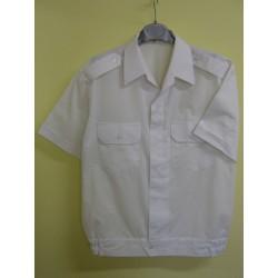 Bundokošile bílá, krátký rukáv